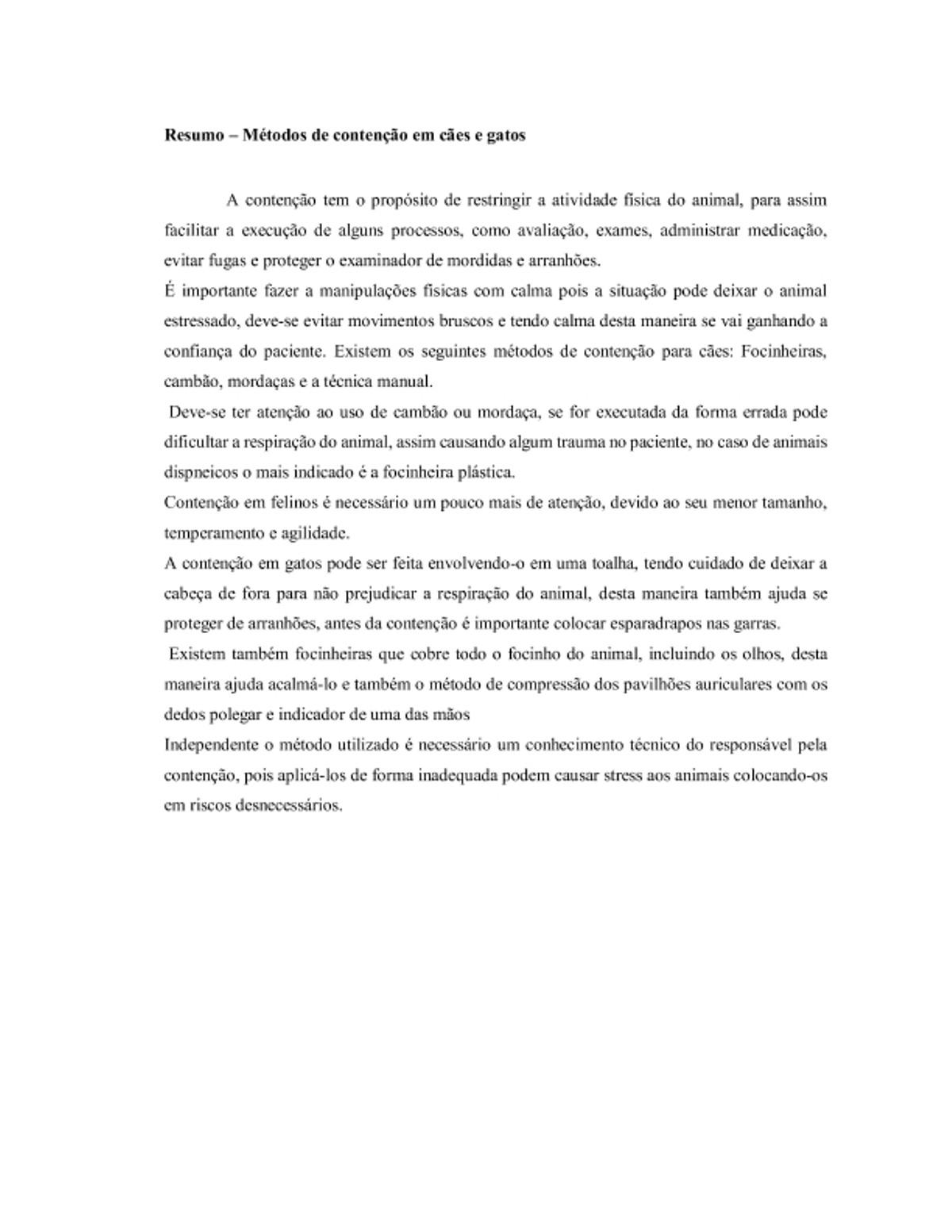Pre-visualização do material Contenção pdf - página 1