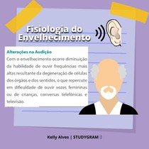 envelhecimento da audição
