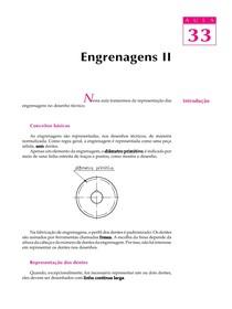 DESENHO MECANICO CAP 33 - Engrenagens PARTE 2