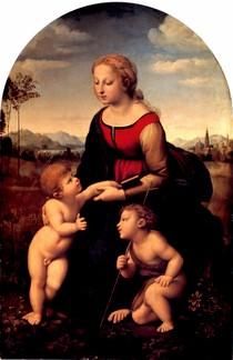 Raphael Sanzio - La Belle Jardiniere
