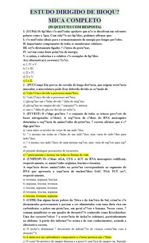 ESTUDO DIRIGIDO DE BIOQUÍMICA COMPLETO