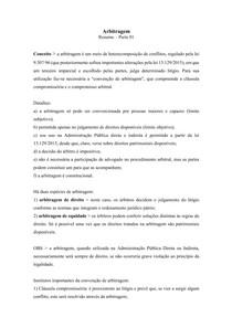 Arbitragem - Parte 01