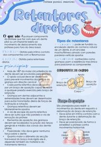 RETENTORES DIRETOS -GRAMPOS CIRCUFERÊNCIAIS E DE PONTA