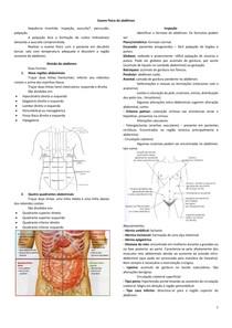 Exame físico do abdômen