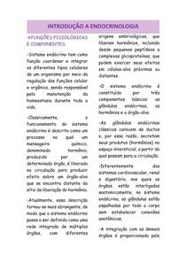 INTRODUÇÃO A ENDOCRINOLOGIA