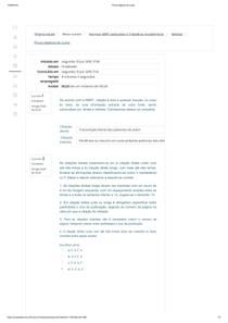 Prova objetiva do curso NORMAS ABNT APLICADAS A TRABALHOS ACADEMICOS