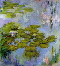 Water Lilies13-Claude Monet