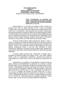 PRINCIPIO DO PROCESSO LEGAL