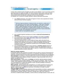 CEL0014-WL-PP-Análise Textual-Variação Liguística
