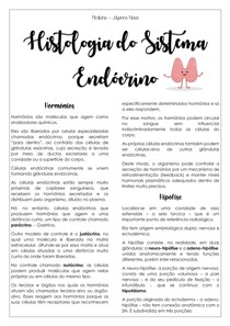 Histologia do Sistema Endócrino