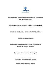 Deterninação de Circuito Equivalente - Cristian Borges