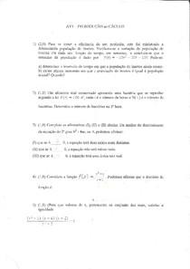 INTRODUÇÃO AO CALCULO AV1