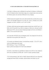 LISTA DE EXERCICIOS 6
