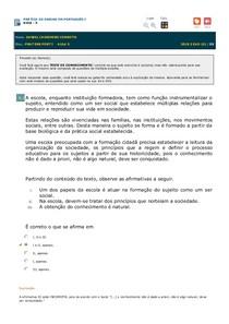 Avaliando Aprendizado - Aula 5 - Prática de Ensino e Estágio Sup Português I - Aula 5