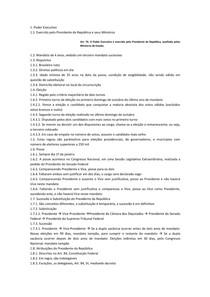 Resumo OAB   Direito Constitucional