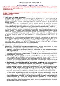 ESTUDO DIRIGIDO 3 - INTERAÇÕES MEDICAMENTOSAS