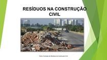 RESÍDUOS NA CONSTRUÇÃO CIVIL