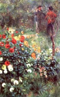Renoir - The Gardenin the Rue Cortot Montmartre