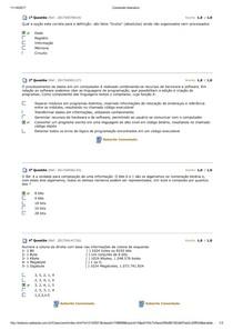 AP - Organizaçao de Computadores Aula 01-05