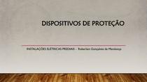 5 - INSTALAÇÕES ELÉTRICAS PREDIAIS - Dispositivos de Proteção