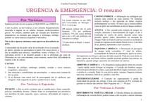 Urgência & Emergência