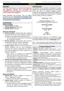 Diarreias - RESUMO