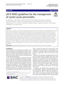 pancreatite aguda (guideline)