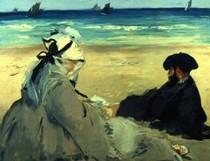 Edouard Manet - at_the_beach