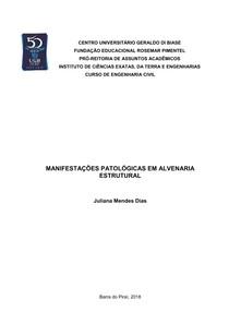 TCC-Manifestações Patológicas em Alvenaria Estrutural