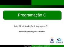01 - introducao a linguagem C
