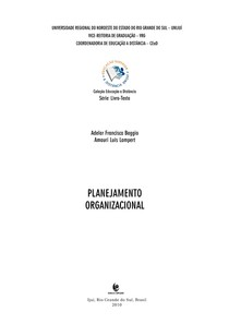 Apostila UNIJUÍ - Planejamento organizacional