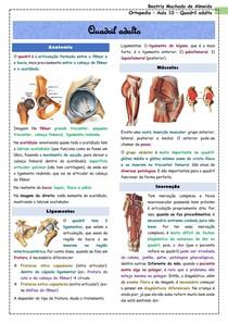 Ortopedia - Aula 10 - Quadril adulto