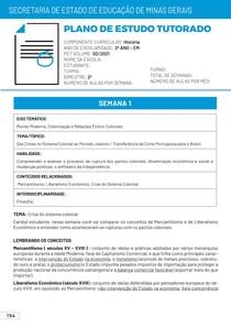 Correção PET 2 História 2021 2º Ano Ensino Médio PDF