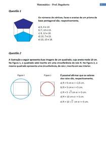 Geometria plana e Espacial - Parte 1
