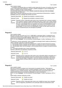atividade 2 de avaliação e educacional e da aprendizagem