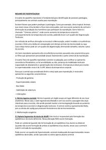 FISIOPATOLOGIA DA REPRODUÇÃO DO MACHO