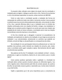 Conciliação e mediação pela via digital. LIVE IBDFAM.
