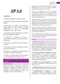 Tutoria - Metabolismo de lipídios