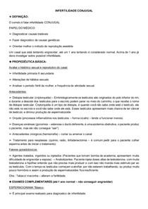 INFERTILIDADE CONJUGAL - Dr Felipe de Almeida - Urologia