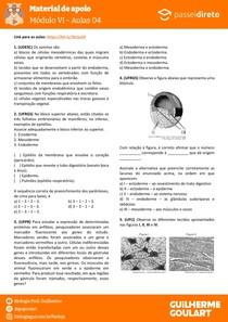 Módulo 6 - aula 04 - Organogênese