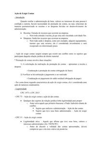 Material de Apoio 02 - Ação de Exigir Contas