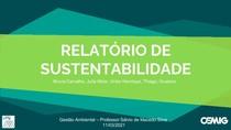 Apresentação- Relatório de sustentabilidade da CEMIG
