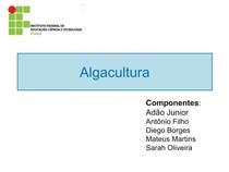 Algacultura