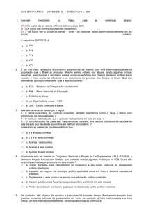 AOL4 EDUCAÇAO EM DH UNIDADE 3