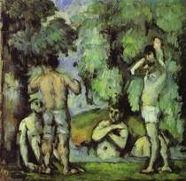 Paul Paul Cézanne - The Five Bathers