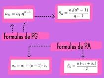 Formulas de PA e PG