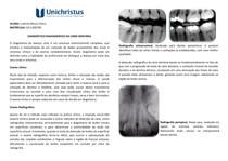 Diagnóstico Radiográfico de Cárie Dentária
