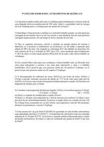 LISTA DE EXERCICIOS 9