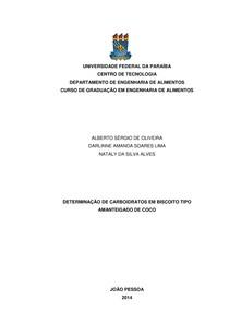 Relatório 1 - Análise I - Determinação de Carboidratos
