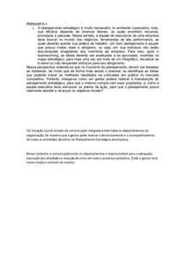Planejamento estratégico - tarefa 3